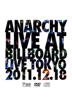Anarchy Live At Billboard Live Tokyo